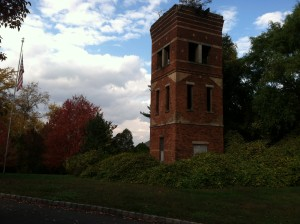 Water Tower in Autumn