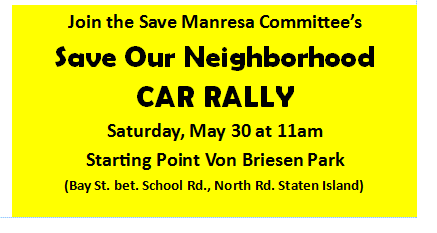 Save Our Neighborhood – Car Rally